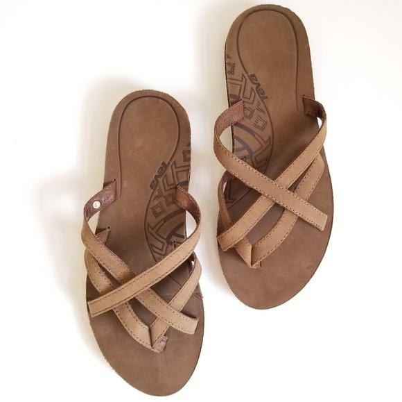 86fbbfc97 Brown Teva Sandals OLOWAHU